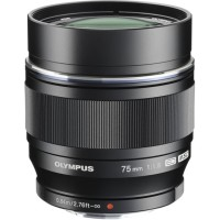 Olympus M.Zuiko Digital ED 75mm f/1.8 черный