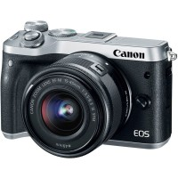 Canon EOS M6 Kit 15-45mm f/3.5-6.3 IS STM Silver