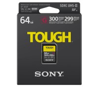 карта памяти Sony SF-G64T SDHC 64GB Tough UHS-II 299/300Mb/s (U3, V90)