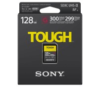 карта памяти Sony SF-G128T SDHC 128GB Tough UHS-II 299/300Mb/s (U3, V90)